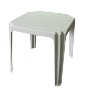 Mesa cuadrada de plastico