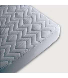 Protector de colchón de rizo de algodón no acolchado