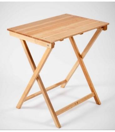Mesa Plegable Rectangular de madera de haya