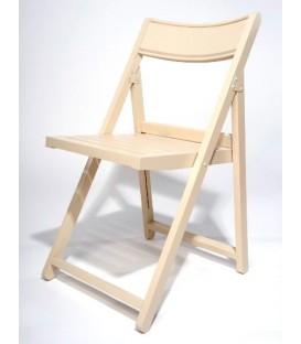 Silla plegable de madera de haya modelo CER