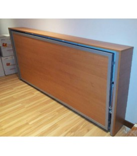Cama metálica abatible horizontal