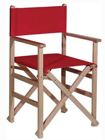 Silla plegable de director